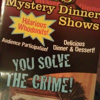 Photo taken at Sleuths Mystery Dinner Shows by Sheila J. on 5/3/2013