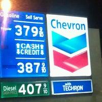 Photo taken at Chevron by Sheila J. on 10/17/2012