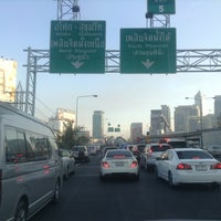 Photo taken at North Ploenchit Exit by KissCaT C. on 3/27/2013