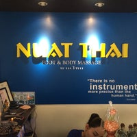 Photo taken at Nuat Thai by Ma Angelica on 8/2/2014