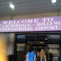 Photo taken at Fort Lauderdale-Hollywood International Airport (FLL) by Patty S. on 7/19/2013
