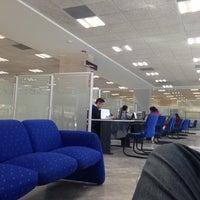 Photo taken at BBVA Bancomer by Fabian M. on 12/26/2014