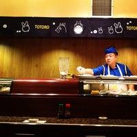 Photo taken at Totoro Japanese Restaurant by Jackie J. on 9/30/2012