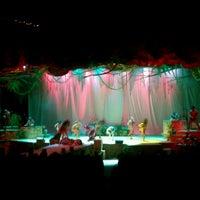 Photo taken at Nautilus Amphitheater at SeaWorld by Tye W. on 10/9/2012