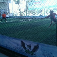 Photo taken at Wing's Futsal by arie s. on 10/14/2012