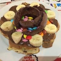 4/23/2014 tarihinde Sümeyye K.ziyaretçi tarafından Waffle'cı Akın'de çekilen fotoğraf