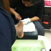 Photo taken at Lady Q Nails by Peaceam M. on 3/8/2014