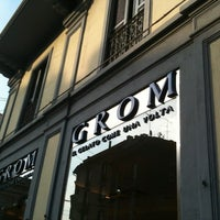Photo taken at Grom by Silvio on 10/6/2012