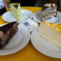 Photo taken at Nadeje Café by Xinyi O. on 4/14/2013