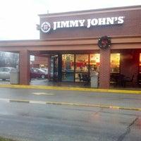 Photo taken at Jimmy John's by Liz N. on 12/15/2012