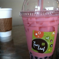 Photo taken at Tea Leaf Cafe by Evyn S. on 12/15/2012