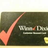 Photo taken at Winn-Dixie by Mike C. on 11/21/2012