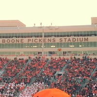 Photo taken at Boone Pickens Stadium by Chris K. on 11/17/2012
