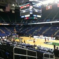 Photo taken at Greensboro Coliseum Complex by Matthew E. on 3/15/2013