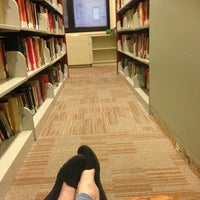 Photo taken at Marymount Manhattan College Library (2nd Floor) by Elizabeth L. on 12/11/2012