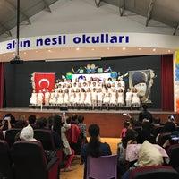 Photo taken at Özel Altinnesil Okullari by Dilek D. on 5/25/2018