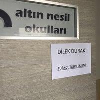 Photo taken at Özel Altinnesil Okullari by Dilek D. on 11/18/2017