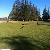 Photo taken at Vinewood Dog Park by Amy R. on 1/20/2013