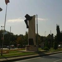 Photo taken at UEFA Meydanı by Serkan K. on 10/1/2012