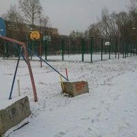 Photo taken at Парк, детская игровая площадка, аттракционы by Lesya P. on 10/27/2014