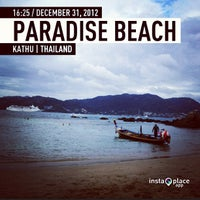 Photo taken at Paradise Beach by ไอซ์ ไ. on 12/31/2012