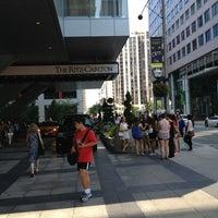 Photo taken at The Ritz-Carlton Toronto by Mark C. on 7/10/2013