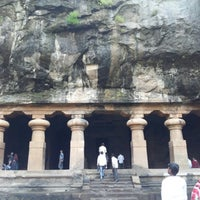 Photo taken at Elephanta Caves by Glen H. on 10/13/2012