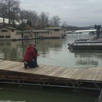 Photo taken at Patoka Lake Marina by John K. on 3/12/2016