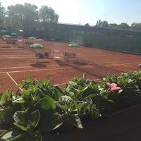 Photo taken at Tenis Baník Praha by Vláďa H. on 5/10/2016