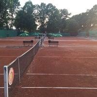 Photo taken at Tenis Baník Praha by Vláďa H. on 5/26/2016