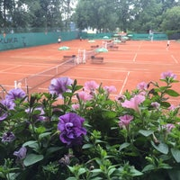 Photo taken at Tenis Baník Praha by Vláďa H. on 7/17/2016