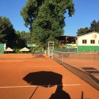 Photo taken at Tenis Baník Praha by Vláďa H. on 8/31/2016