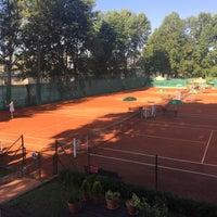 Photo taken at Tenis Baník Praha by Vláďa H. on 6/24/2016