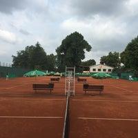 Photo taken at Tenis Baník Praha by Vláďa H. on 6/9/2016