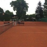 Photo taken at Tenis Baník Praha by Vláďa H. on 5/18/2016
