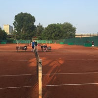 Photo taken at Tenis Baník Praha by Vláďa H. on 5/25/2016