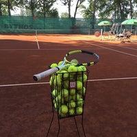 Photo taken at Tenis Baník Praha by Vláďa H. on 6/8/2016