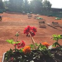 Photo taken at Tenis Baník Praha by Vláďa H. on 6/22/2016