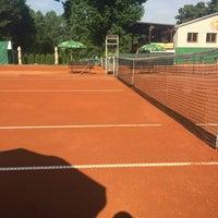 Photo taken at Tenis Baník Praha by Vláďa H. on 6/30/2016