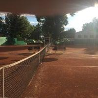 Photo taken at Tenis Baník Praha by Vláďa H. on 5/30/2016