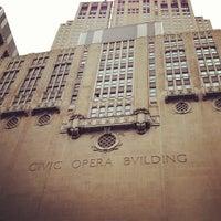 Снимок сделан в Civic Opera House пользователем Way-Fan C. 7/7/2013