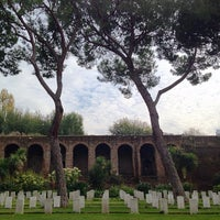Photo taken at Cimitero Di Guerra Del Commonwealth by Way-Fan C. on 11/25/2014