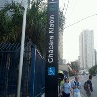 Foto tirada no(a) Estação Chácara Klabin (Metrô) por Fernando M. em 10/3/2012