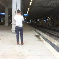 Photo taken at Belgradе Centre Railway Station by Anna B. on 5/15/2016