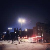Photo taken at University LRT Station by Nicholas Y. on 3/5/2013