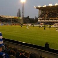 Photo taken at Jules Ottenstadion by Pieter-Jan U. on 2/23/2013