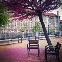 Photo taken at Lycée Emile Loubet by Coralie M. on 5/4/2013