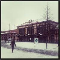 Photo taken at Gare SNCF de Saint-Étienne Châteaucreux by Coralie M. on 2/25/2013
