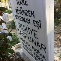 Photo taken at Hocacihan Mezarlığı by Süleyman T. on 4/11/2017