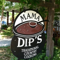 Photo taken at Mama Dip's by Allan L. on 5/12/2013
